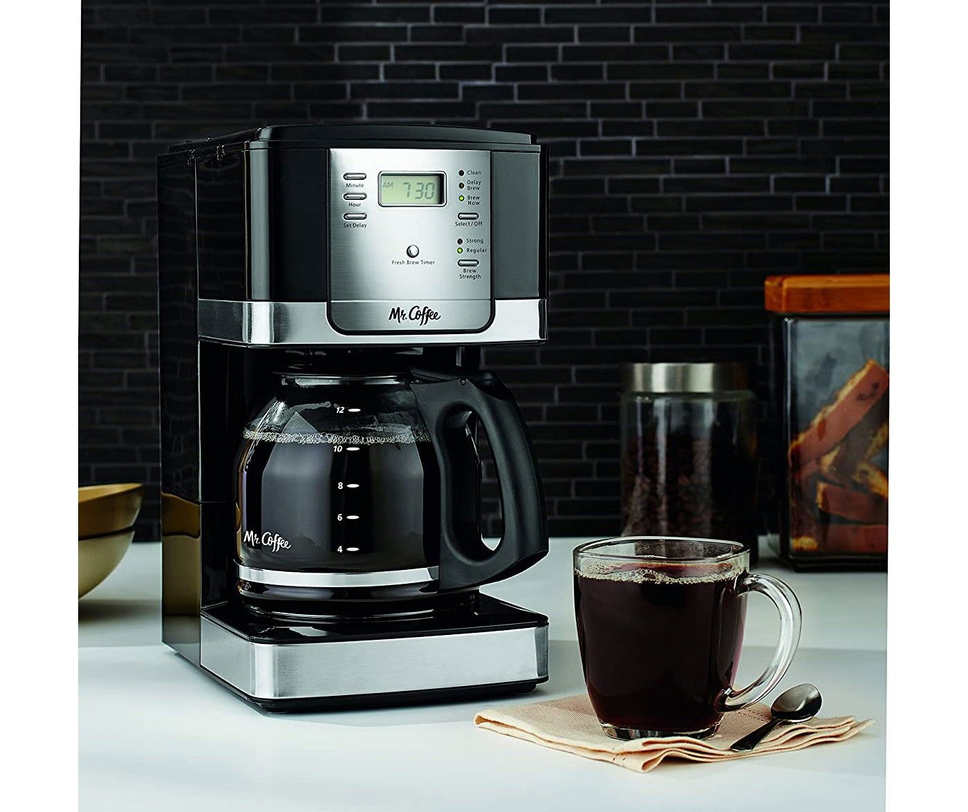 Mr. Coffee Advanced Brew 12Cup AutoPause Programmable