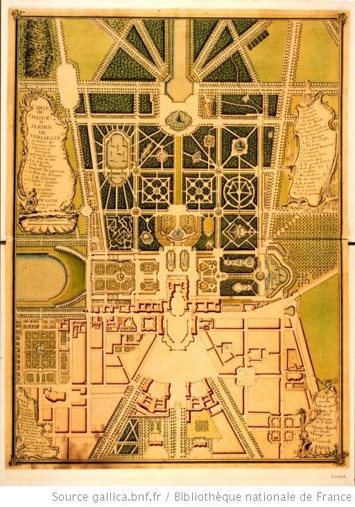 Les Jardins De Versailles Plan Interactif Chteau De