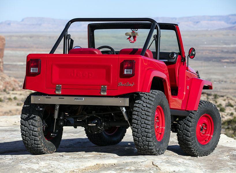 Jeep Shortcut Concept Multipurpose Vehicle Jeep Jeep Concept