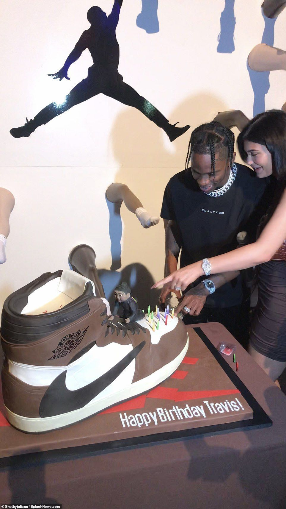 Inside Travis Scott's birthday party with Kylie Jenner in