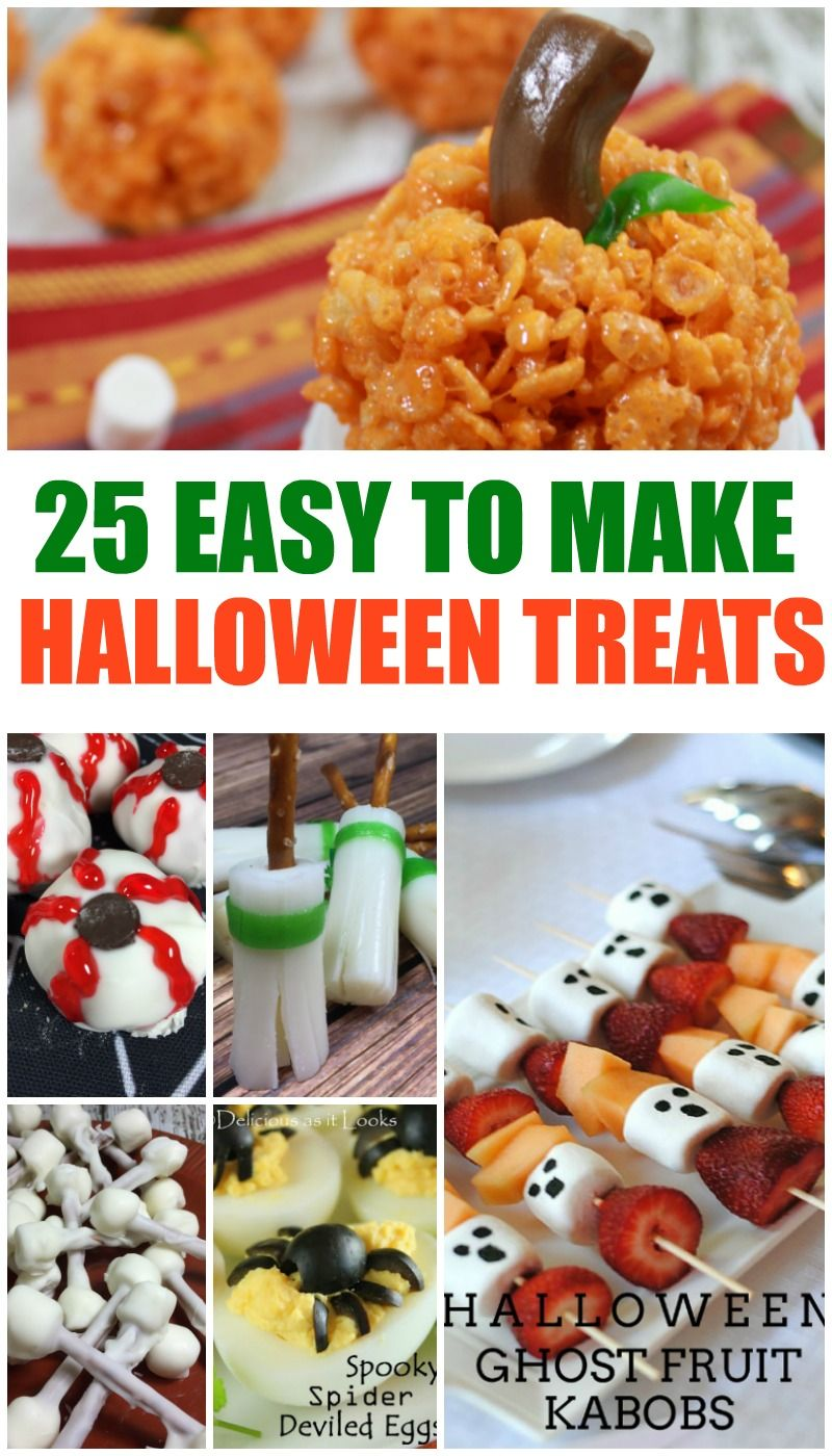 25 Of The Best Halloween Treats Halloween food for party