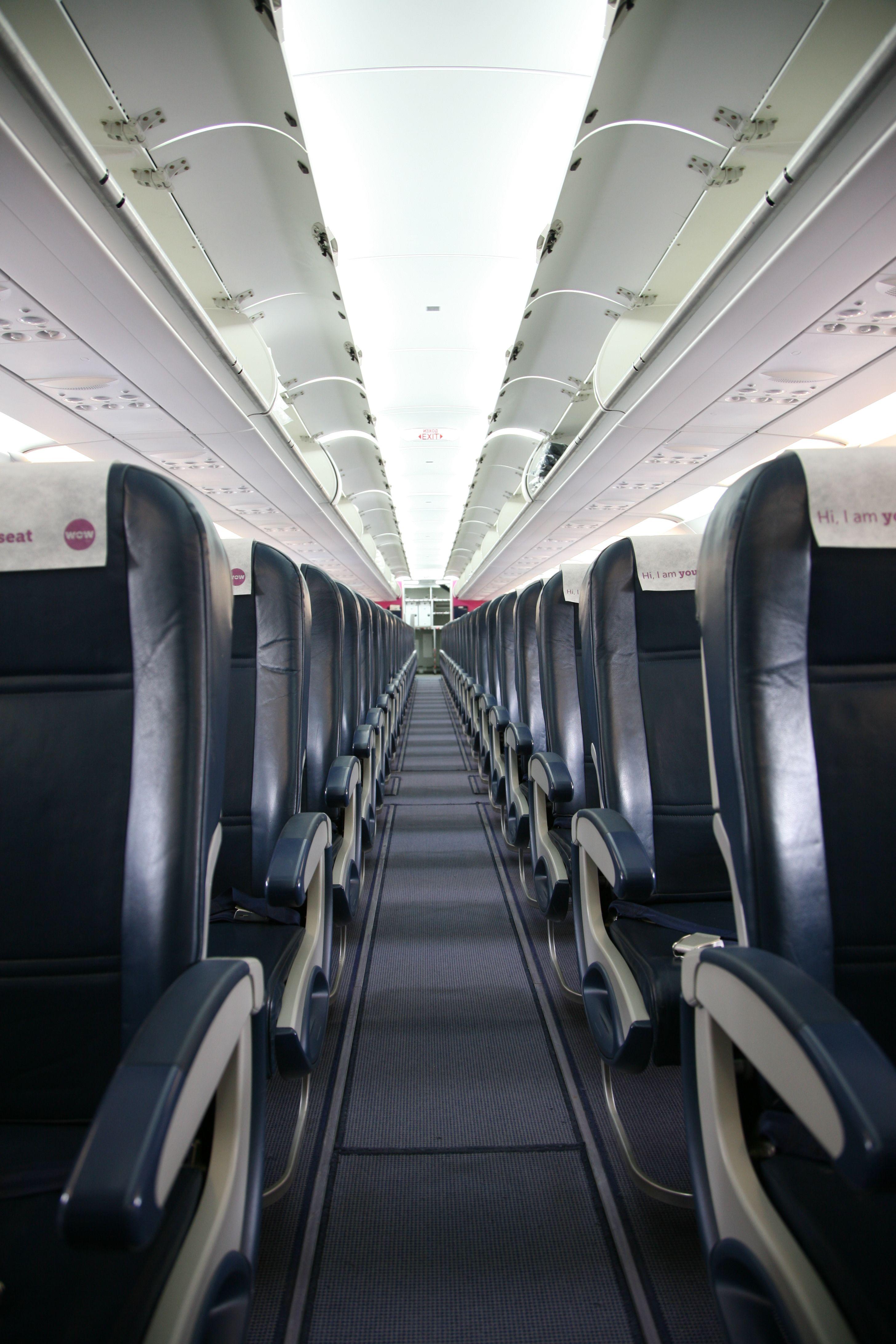 WOW air aircraft interior | Meet the WOW fleet | Pinterest ...