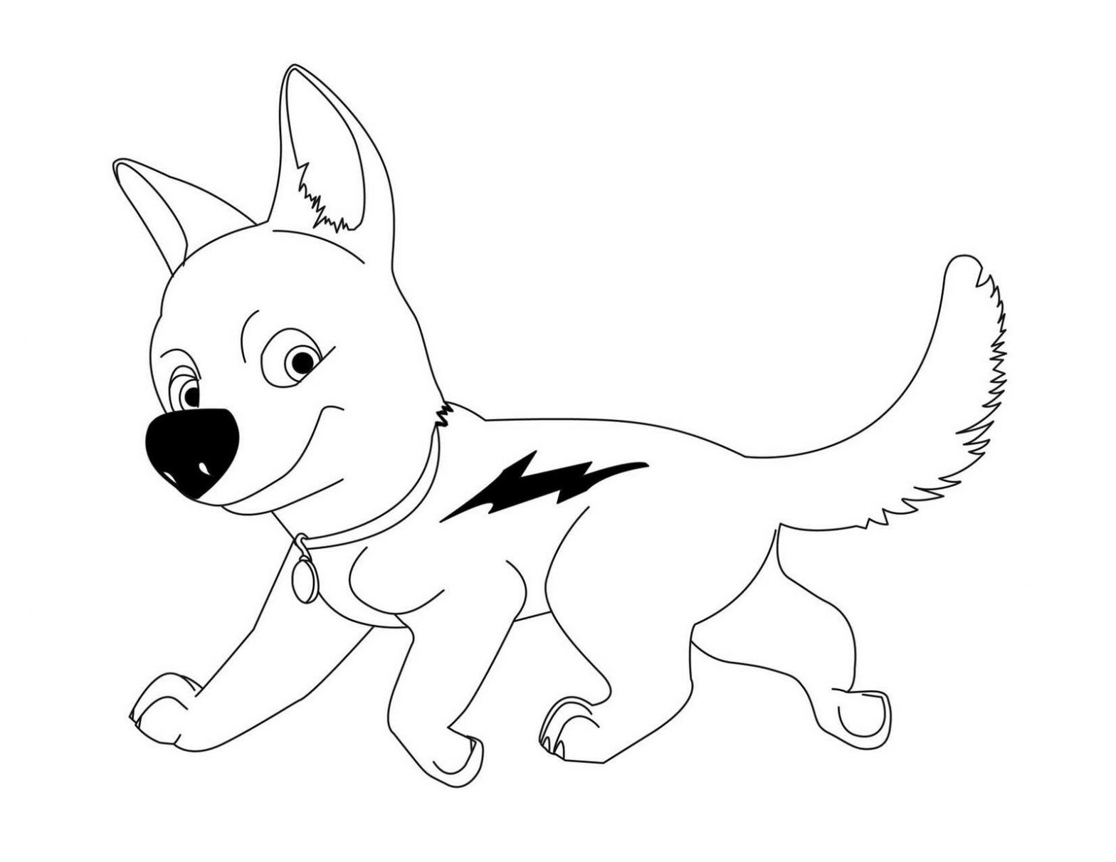 Dibujo infantil de Bolt para colorear | asiento mesa | Pinterest ...
