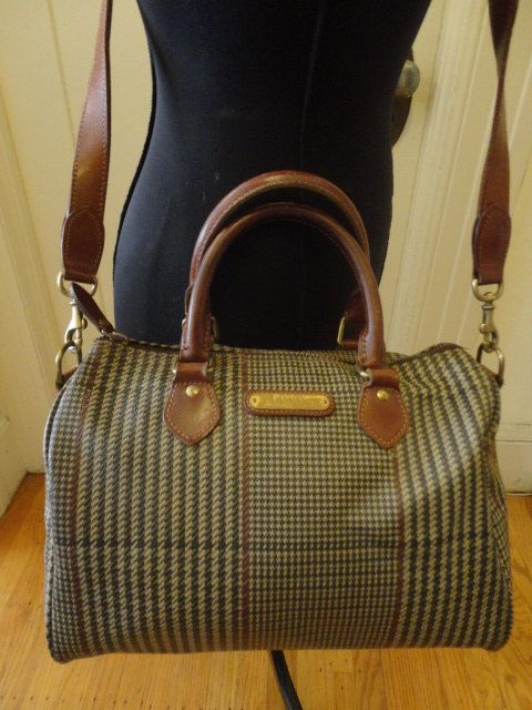 e341eda7ce7c Vintage Polo Ralph Lauren Houndstooth Plaid -- I am told that houndstooth  plaid is a Fall 2013 Fashion Trend.