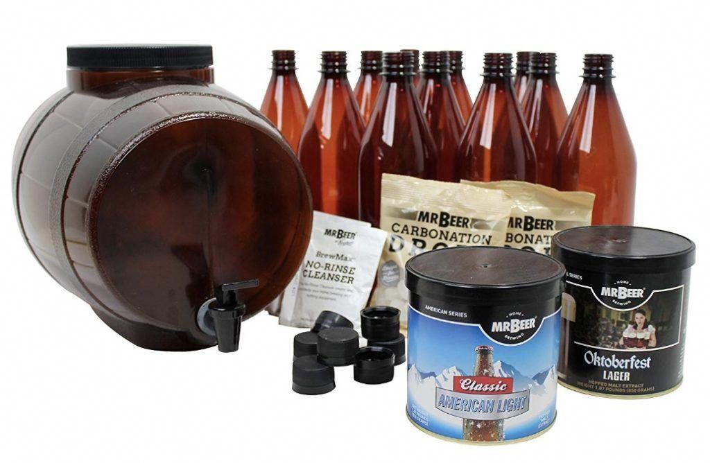 Mr  Beer Brewing Kit ReviewA Look into the Premium Gold