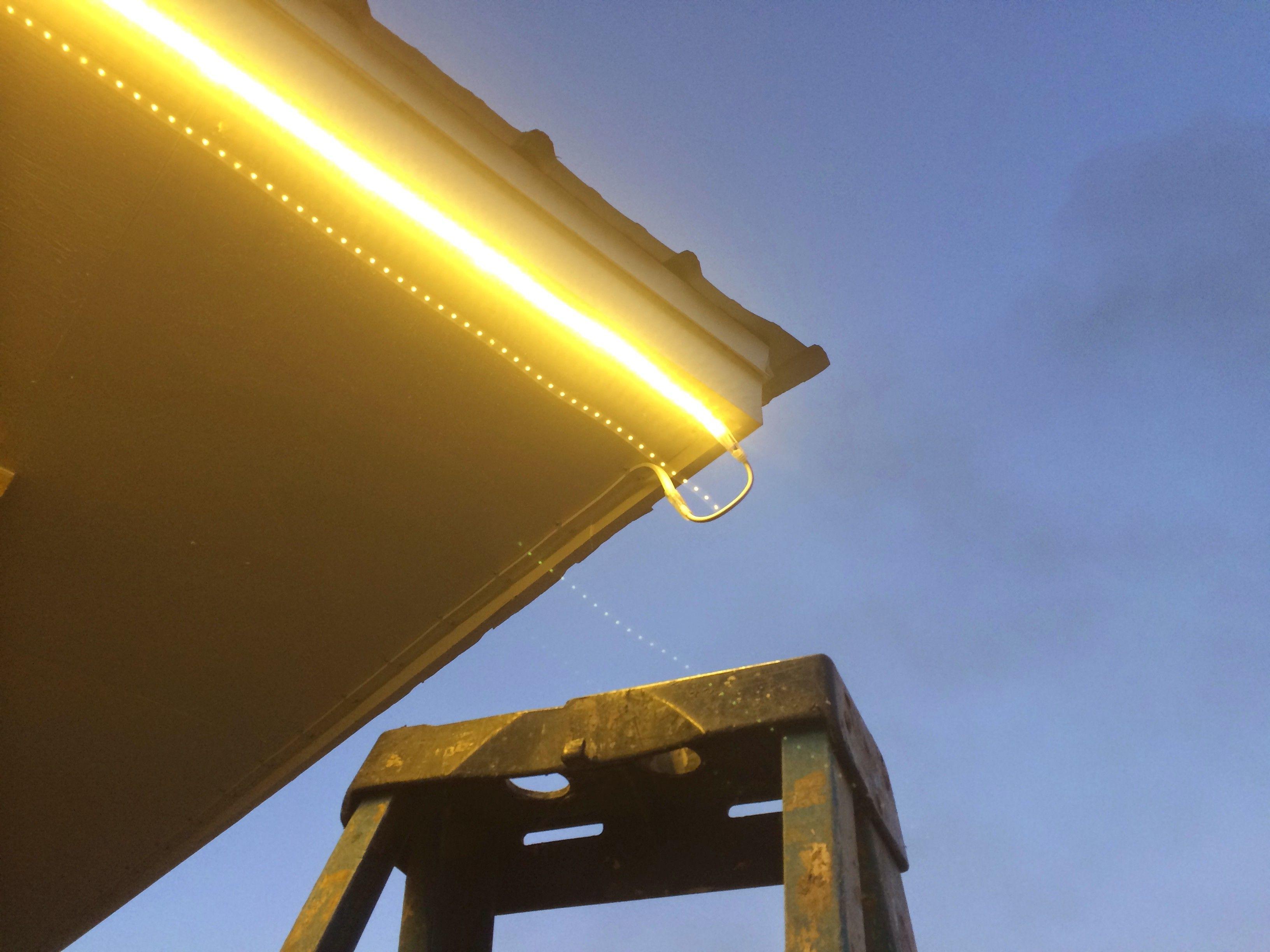 led eave lighting led lighting diy