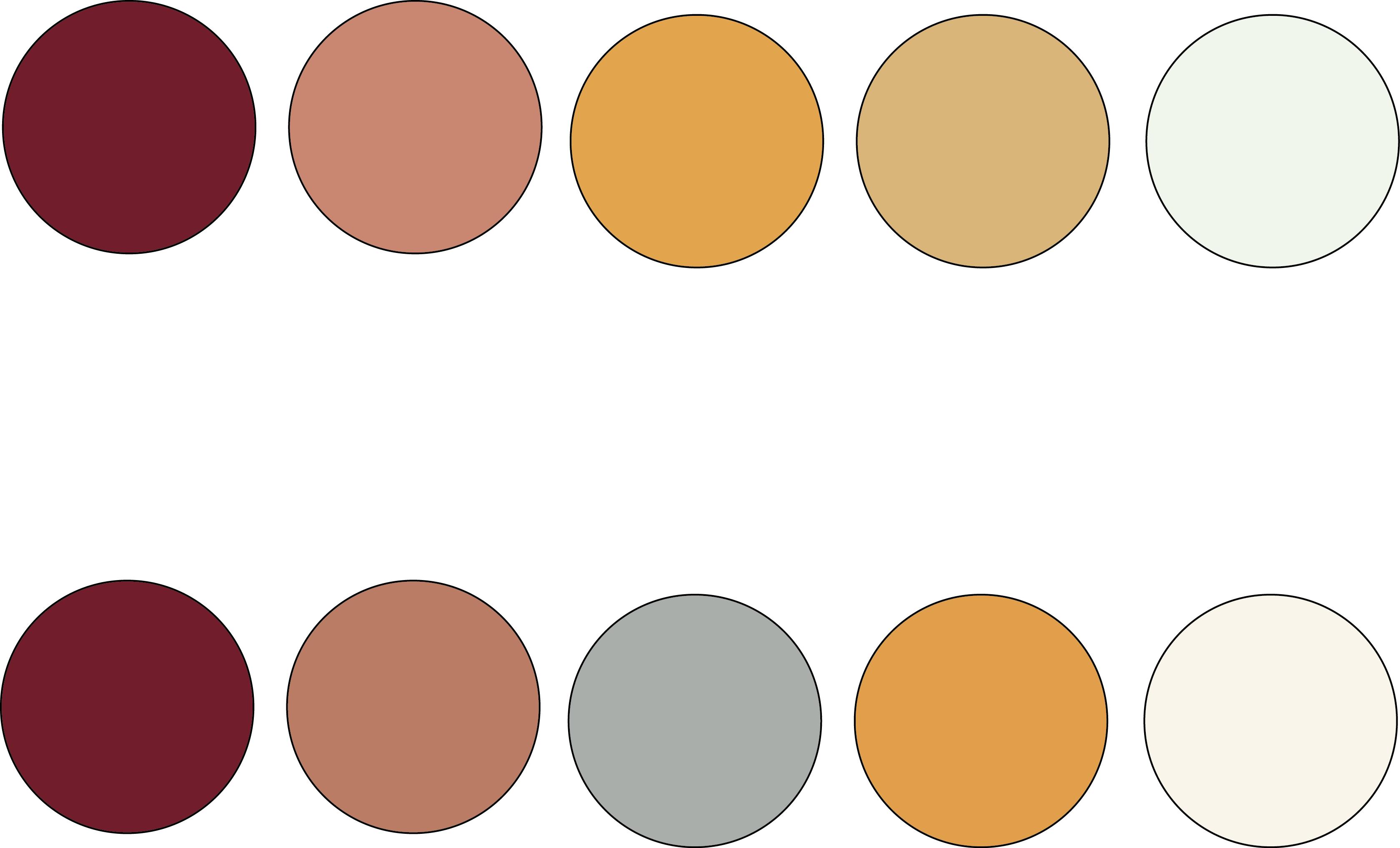 Katie's color palette concepts Color palette, Color