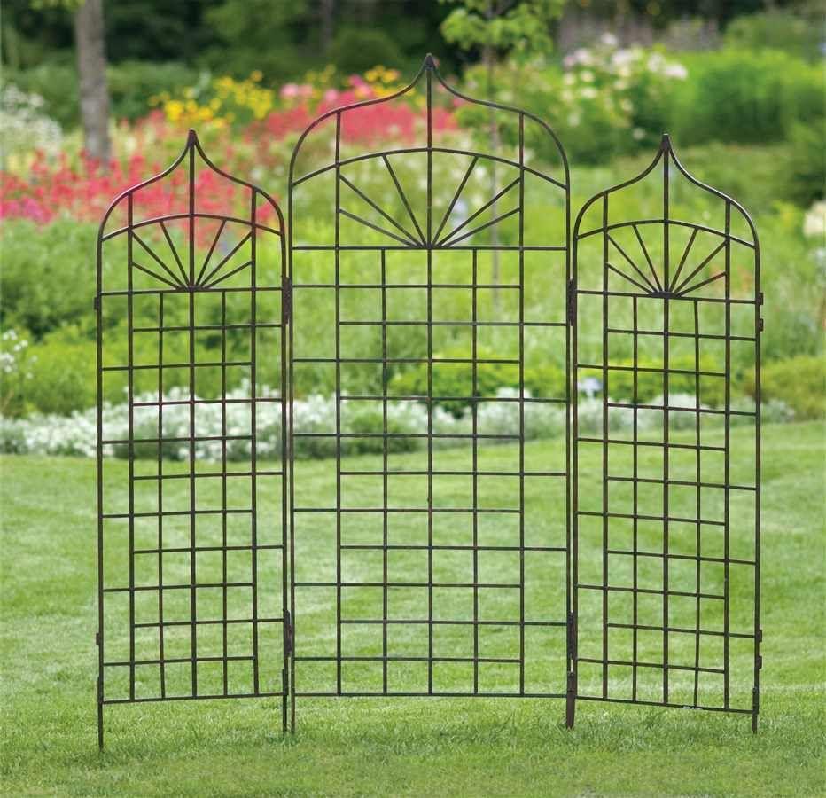 Charming Outdoor Lattice | Use Metal Garden Trellis To Improve The Look Of Your  Garden |Articles
