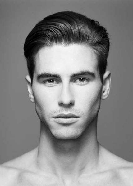 Very Trendy Slicked Back Haircut For Straight Hair Latest Men S Fade Haircut And Hairstyles 2015 Hair Facts Mens Hairstyles Sleek Back Hair