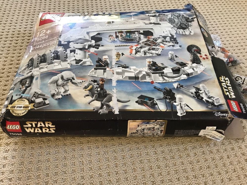 Lego Star Wars Assault On Hoth 75098 Open Box New 40a