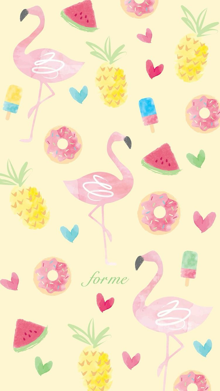 Pin De Taylor Small Biz Refined M Em Iphone Background Papel De Parede De Melancia Papel De Parede Flamingo Papel De Parede De Fundo