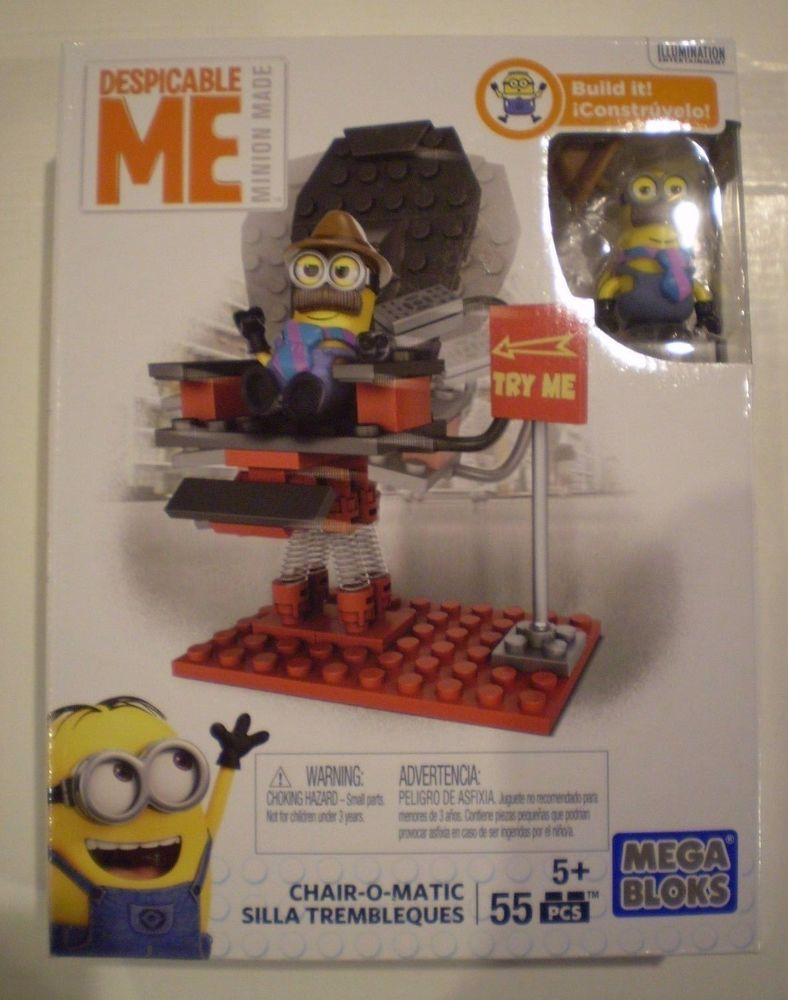 MEGA BLOKS Despicable Me Minions DKY84 *CHAIR-O-MATIC* NISB