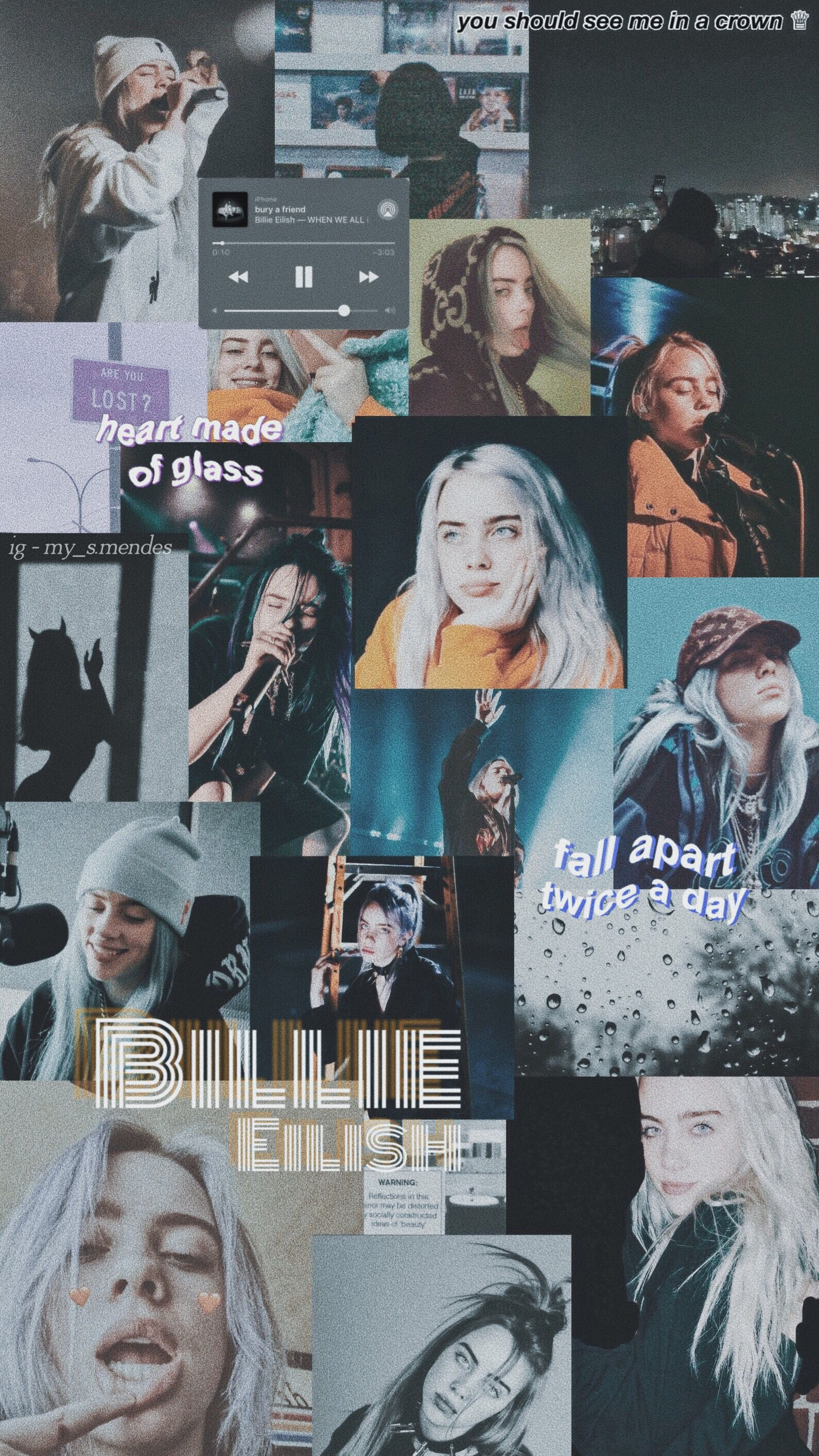 follow me on instagram (my_s.mendes) billieeilish