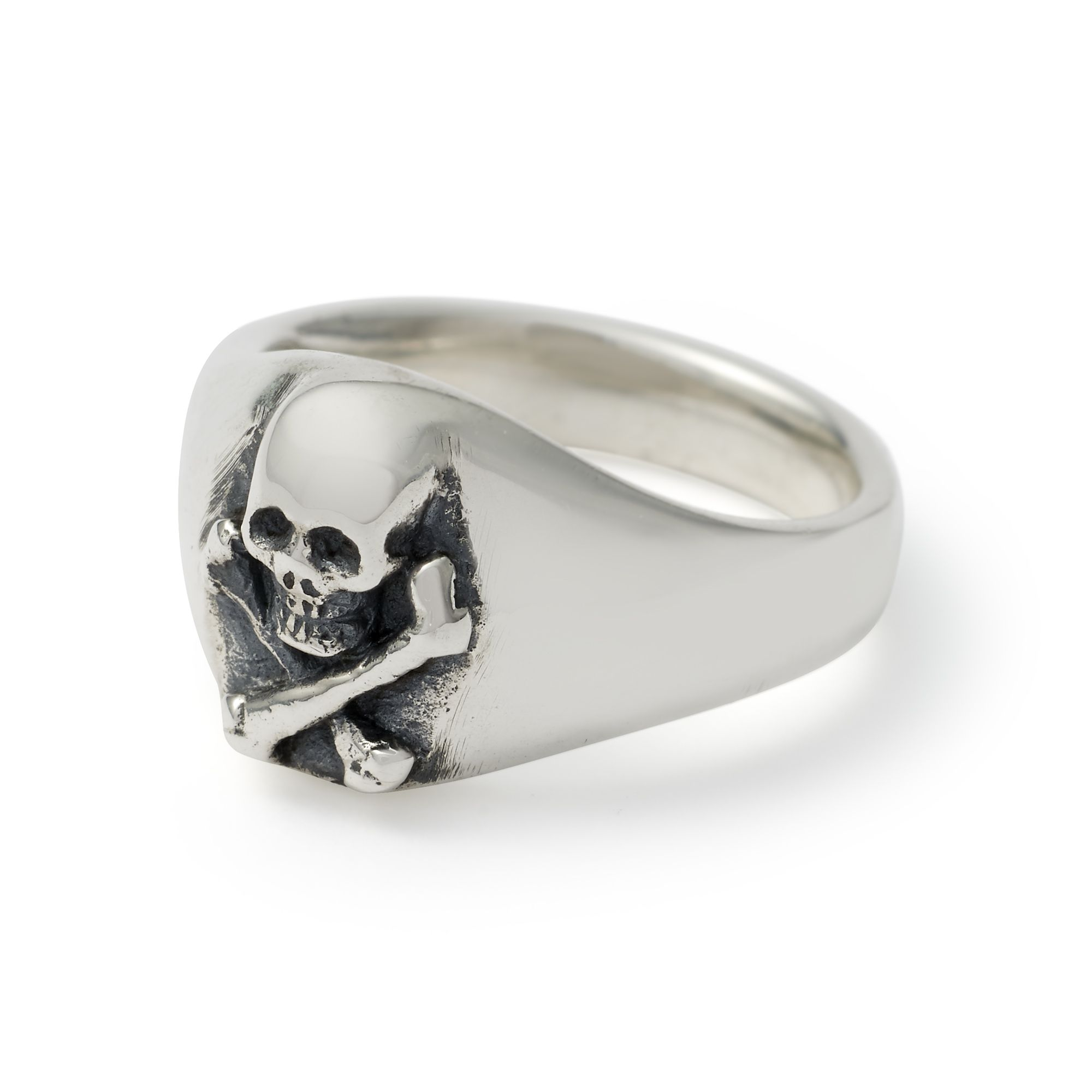 Small Skull Crossbones Signet Ring Skull Ring Small Skull Celtic Rings Women