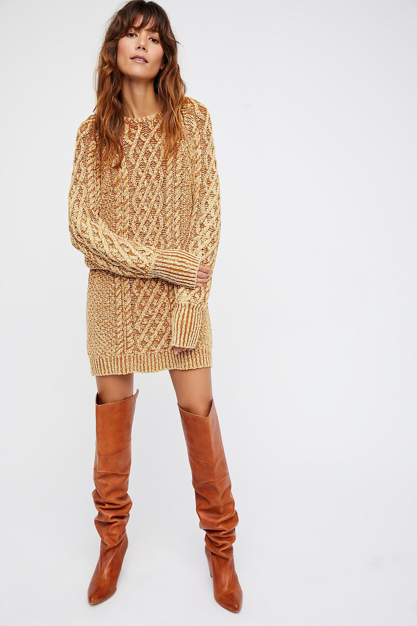 0f63922b69430 Shop our On A Boat Sweater Dress at Free People.com. Share style pics with  FP Me