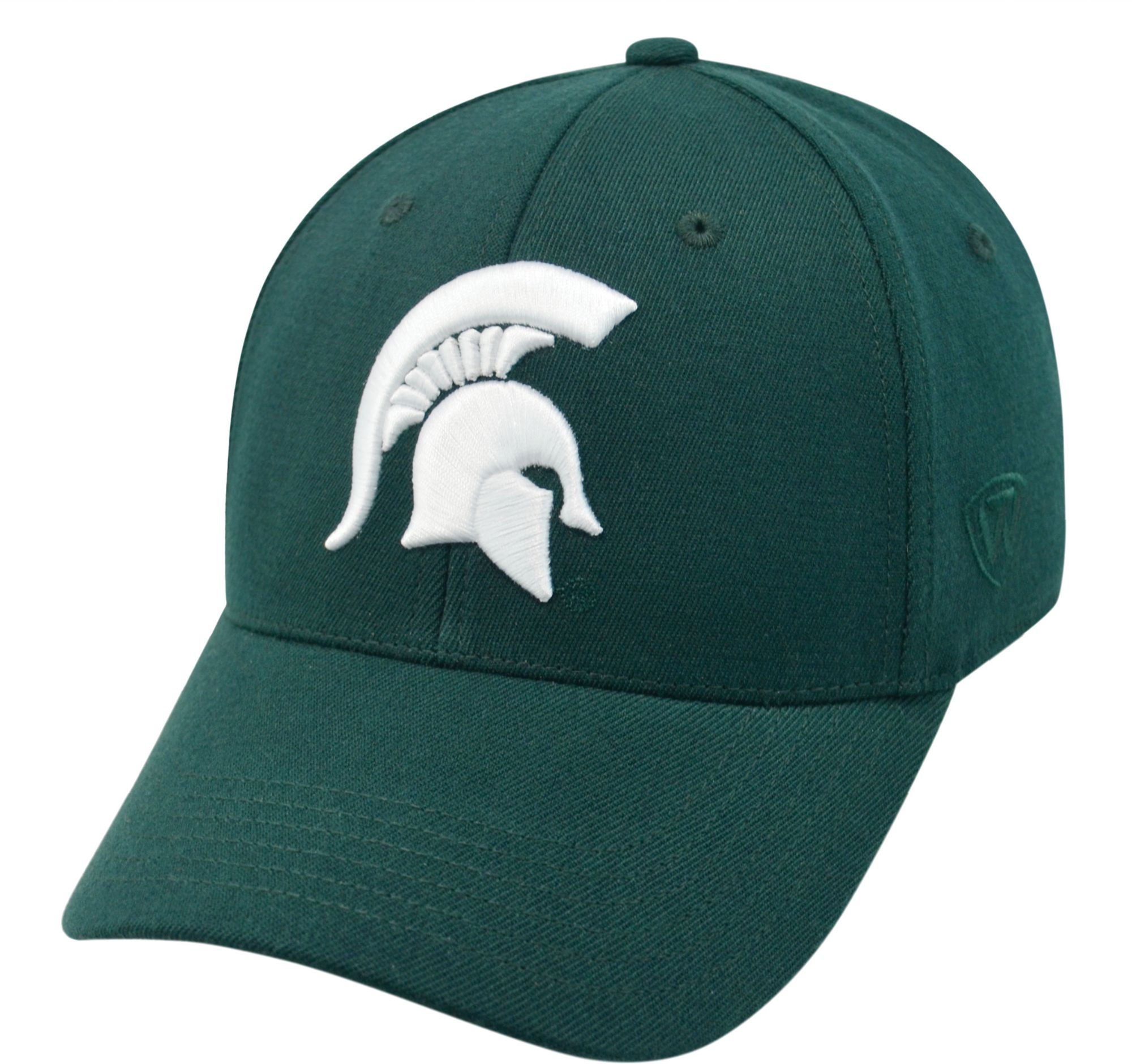 low priced 581a4 ce87f Top of the World Men s Michigan State Spartans Green Premium Collection M-Fit  Hat, Size  Medium Large, Team