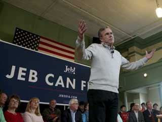 Days after going toe-to-toe with Donald Trump on the debate stage, Jeb Bush seemed to relish his new role as the Republican front-runner's chief critic while campaigning on Saturday in New...