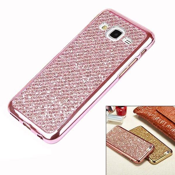 purchase cheap 68de3 bf4b9 Galaxy J3 Case Glitter Samsung Phone Girls Accessories Slim TPU Soft ...