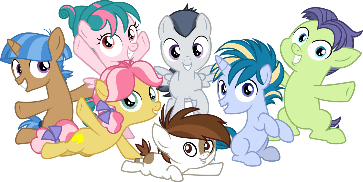My Little Pony Friendship is Blank Flanks by Comeha