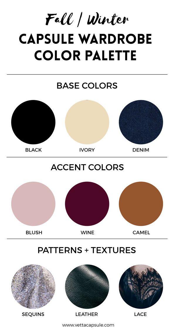 Create A Wardrobe Color Palette Wardrobe Color Palettes In