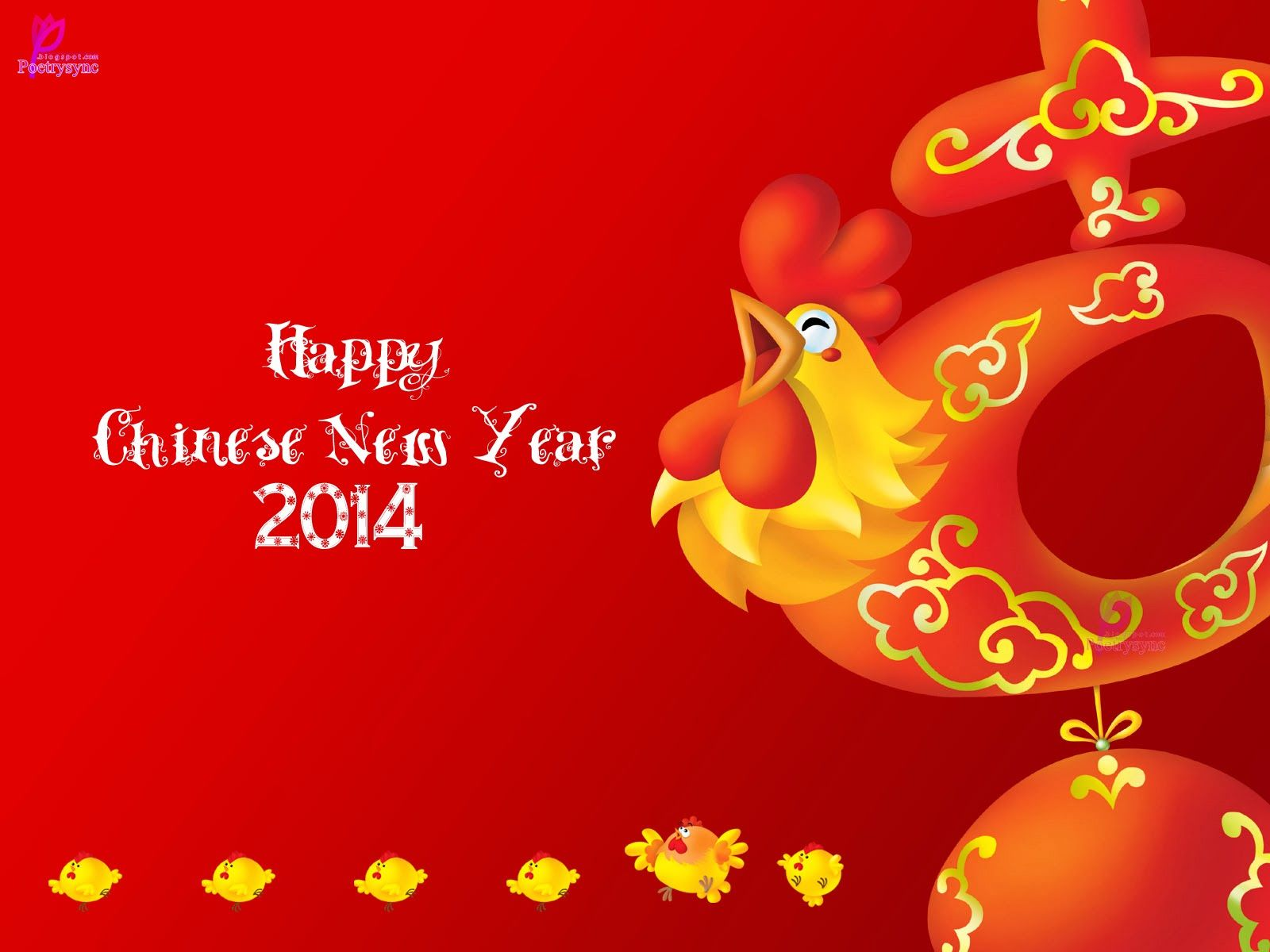 Happy Chinese New Year Wishes Image Card Happy Lunar & Tet