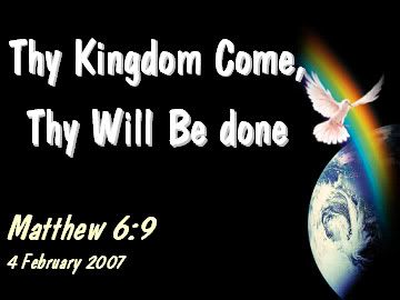 I had a profound dream about the kingdom of God. In the dream, I watched as different people experienced the kingdom. I hope you're encouraged by this dream. The kingdom of God is within and around you. I hope we will all live from the unseen reality of God's eternal kingdom.  http://prayingmedic.com/2010/10/16/the-kingdom-of-god-revealed-a-dream/