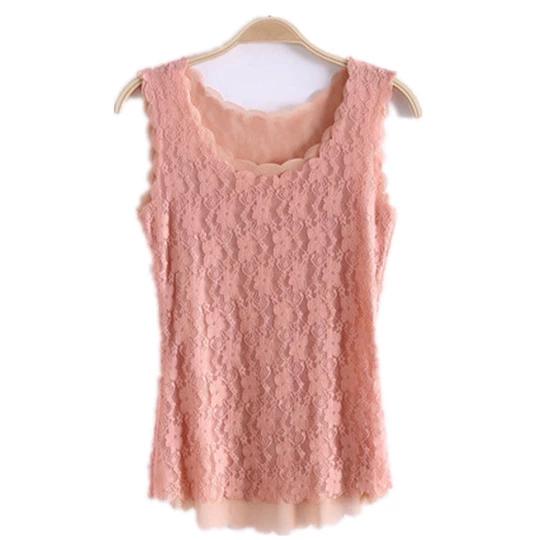 Women Tank Tops Fashion Lace Women's Tank Crochet Embroidery Fitness Summer Casual Blouse Camisole Sleeveless Shirt For Female #crochettanktops