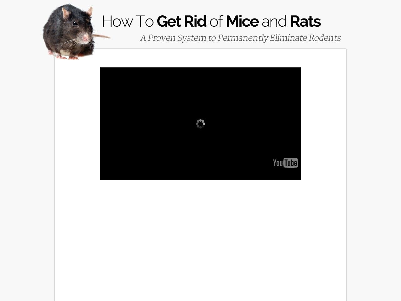 How To Get Rid Of Mice And Rats - Eliminate Rodents Review Get Full Review : http://scamereviews.typepad.com/blog/2013/12/how-to-get-rid-of-mice-and-rats-eliminate-rodents.html