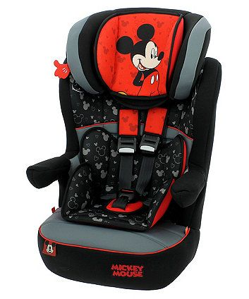 Order A Disney Mickey Mouse IMax SP High Back Booster Car Seat With Harness Today From Mothercare Delivery Free On All UK Orders Over 50