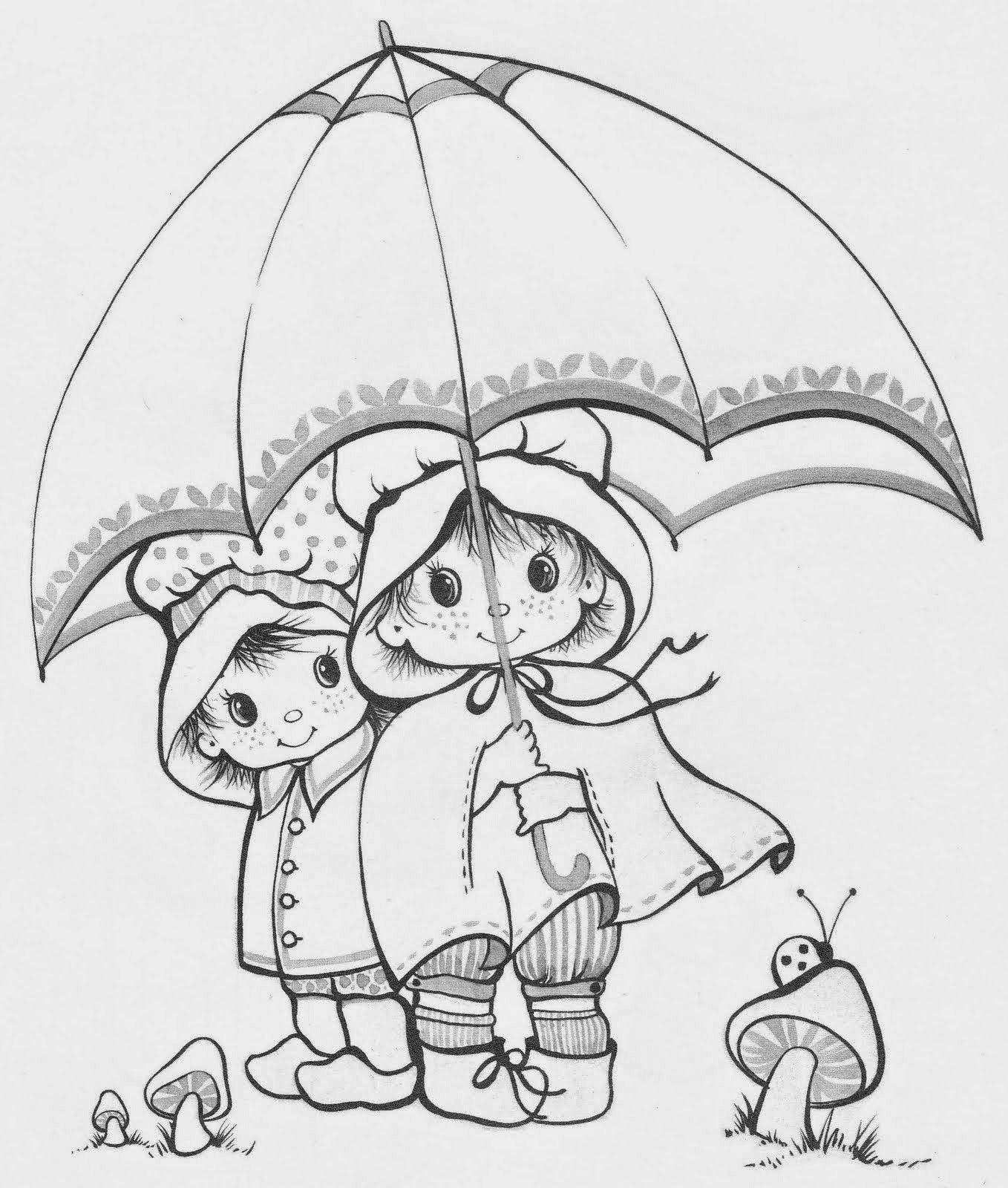 Desenhos Fofissimos De Criancas Para Colorir Criancas Para