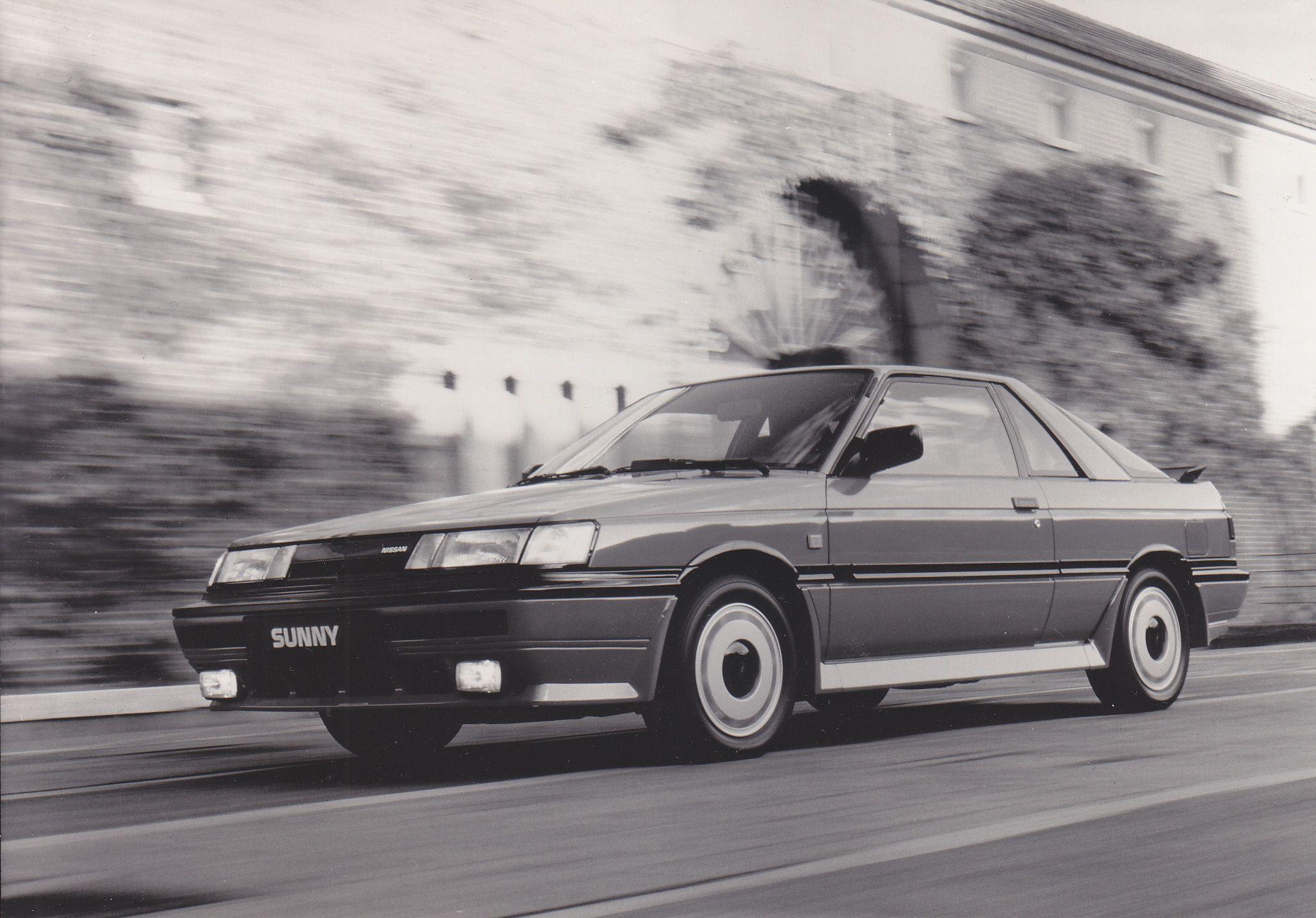 Nissan Motor Schweiz Sunny Gti 16 Valve Coupe 日産サニー 日産 サニー