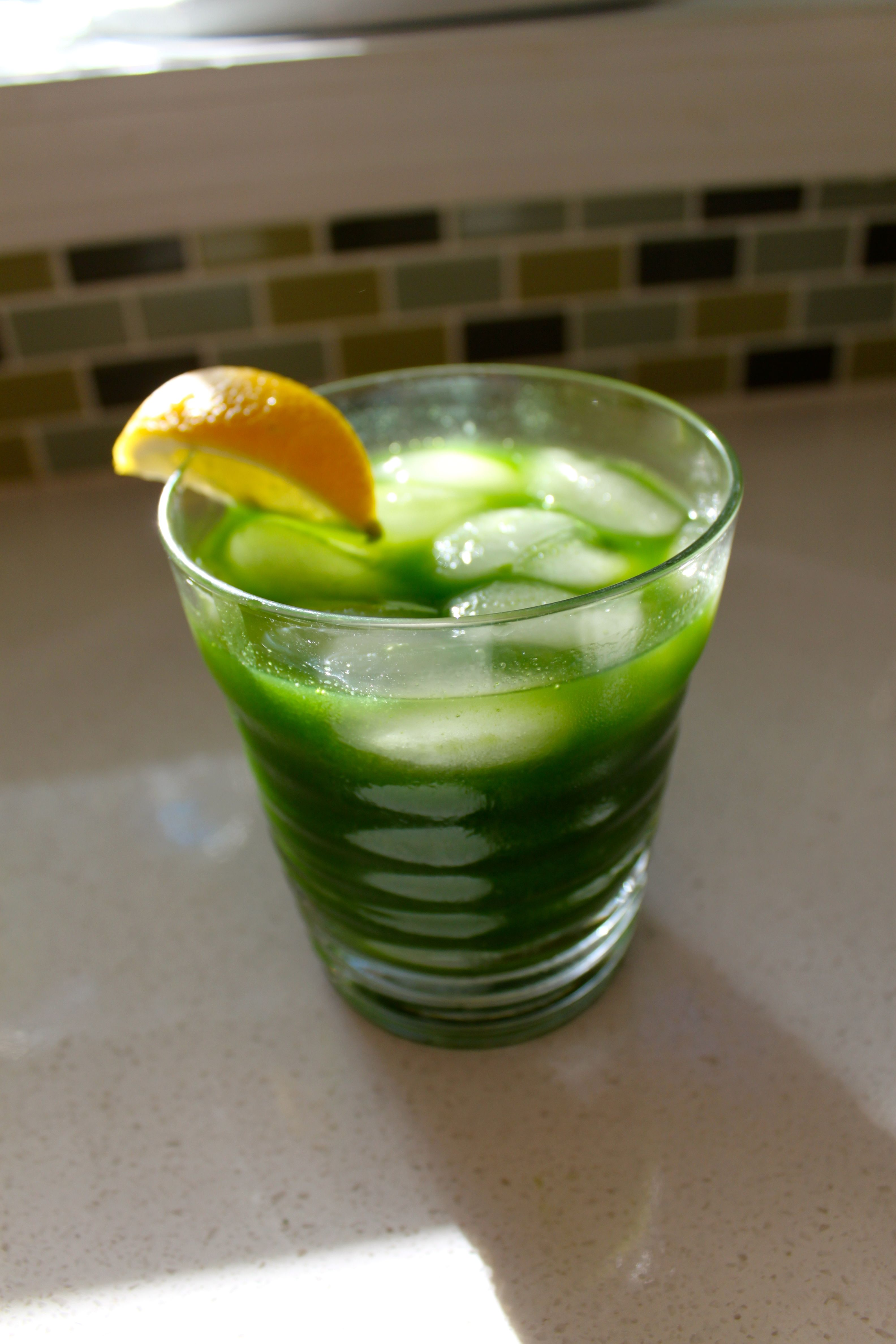 Another Kale cocktail