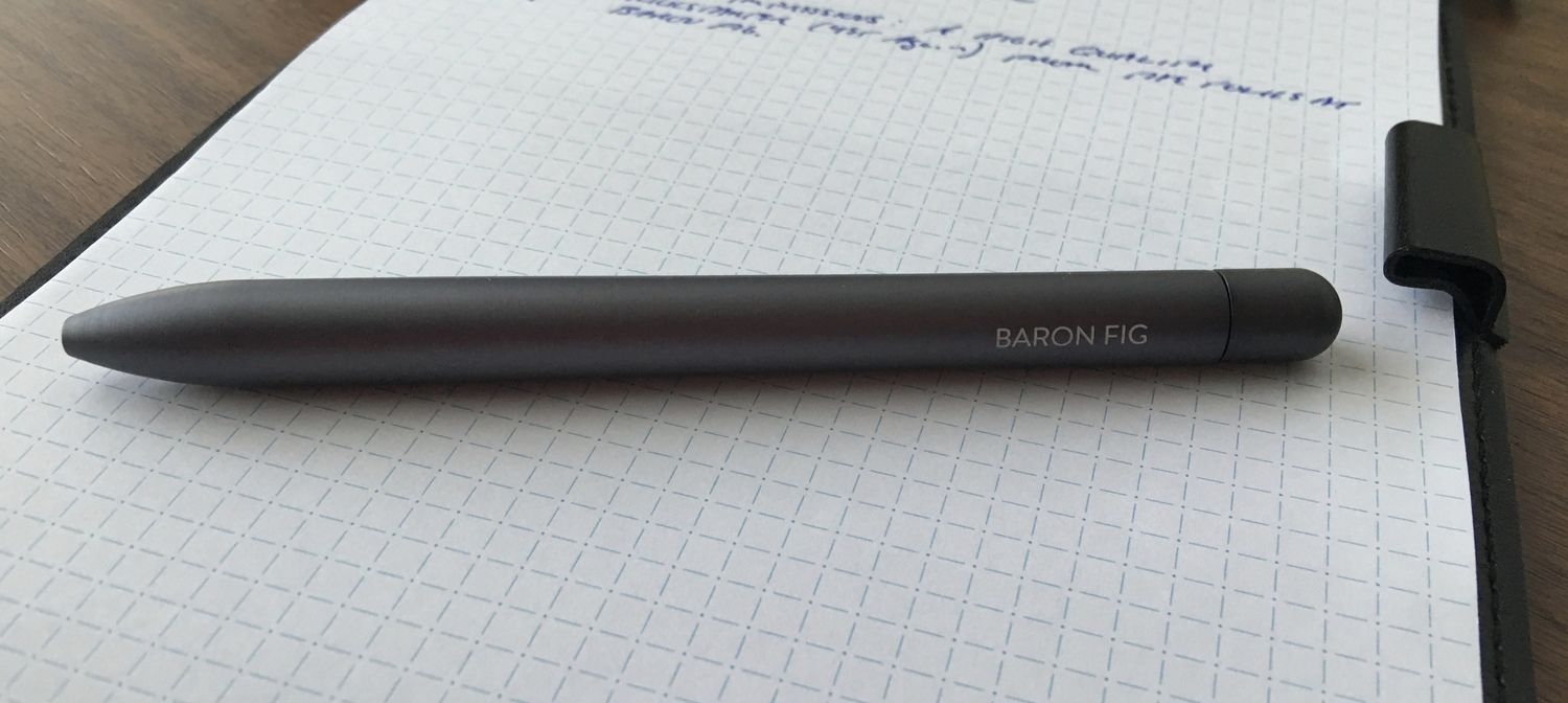 First Impressions of the Baron Fig Squire: The Pen Is A ...