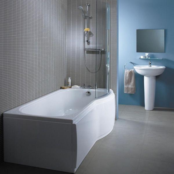 Ideal Standard Space Shower Bath Screen Screens