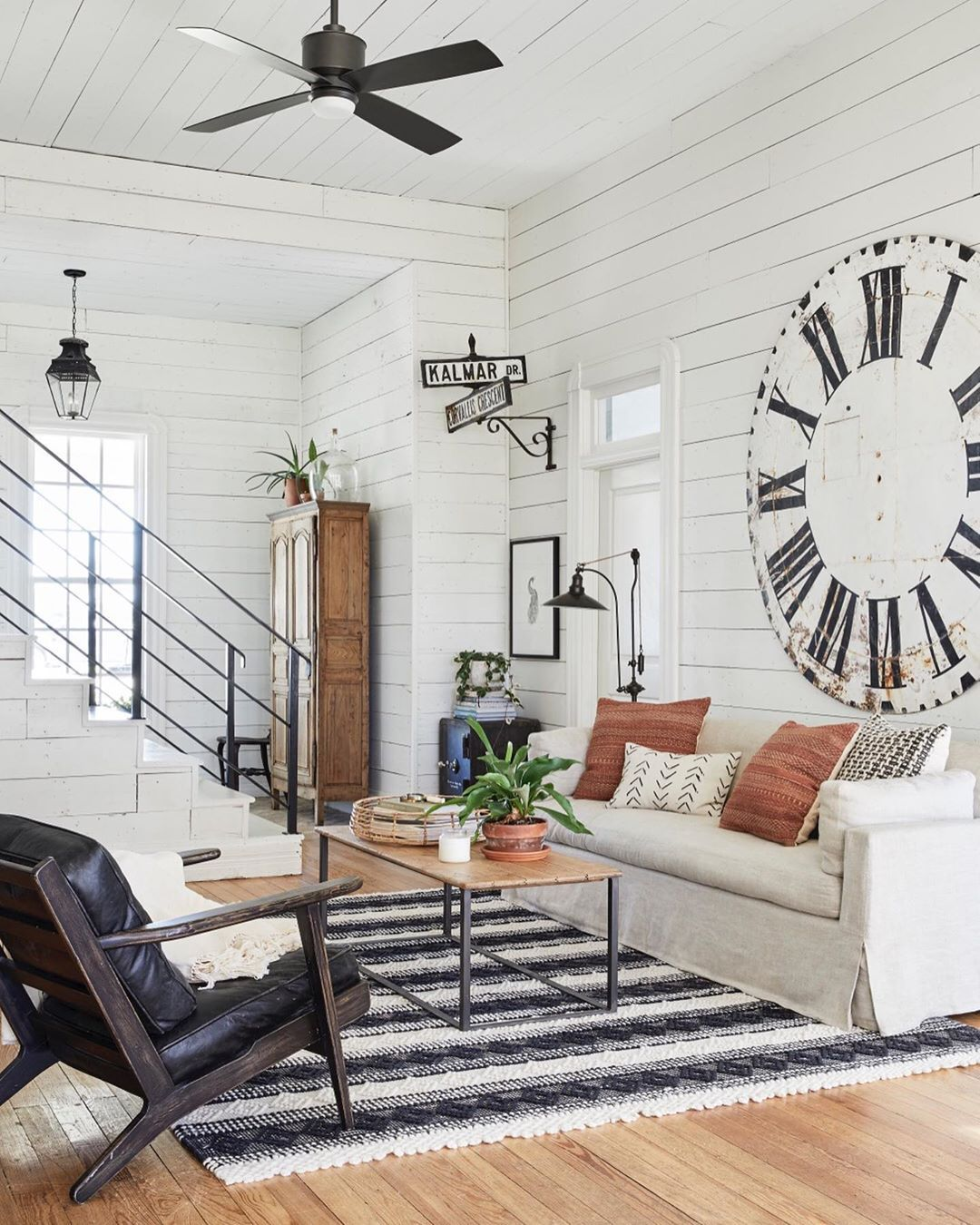 Magnolia On Instagram On The Blog Joannagaines Is Sharing Updated Photos Of The Farmh Joanna Gaines Dining Room Living Room Fans Joanna Gaines Living Room