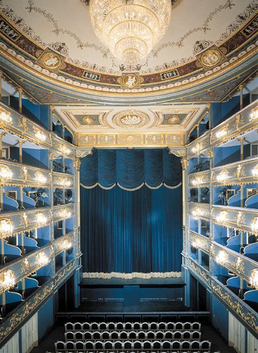Estates Theatre of Prague, Czech Republic