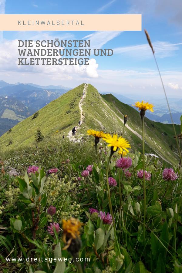 Kleinwalsertal Wandern #hikingtrails
