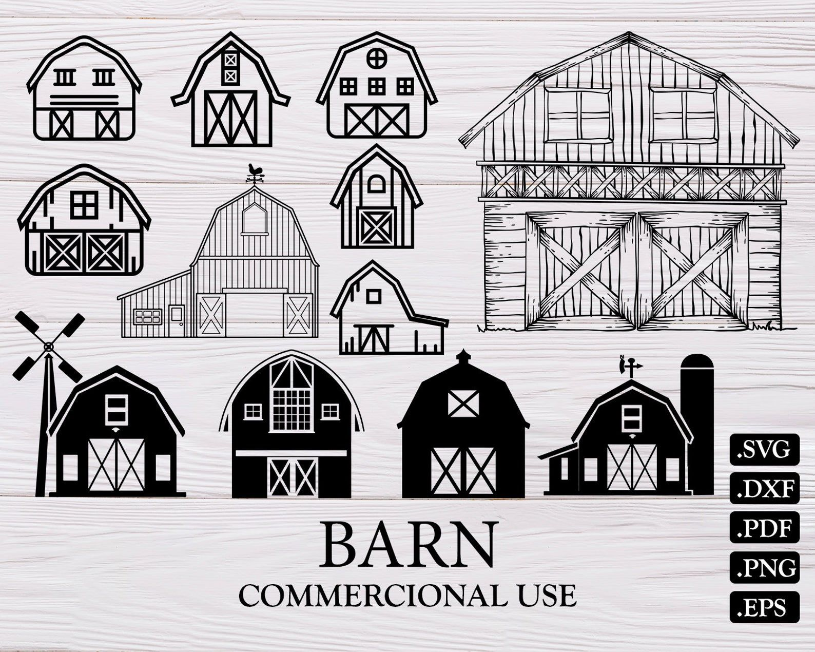 Barn Svg Farm Svg Barn Farmhouse Svg Farming Svg Barn Etsy Farm Logo Design Farm Barn Farm Life
