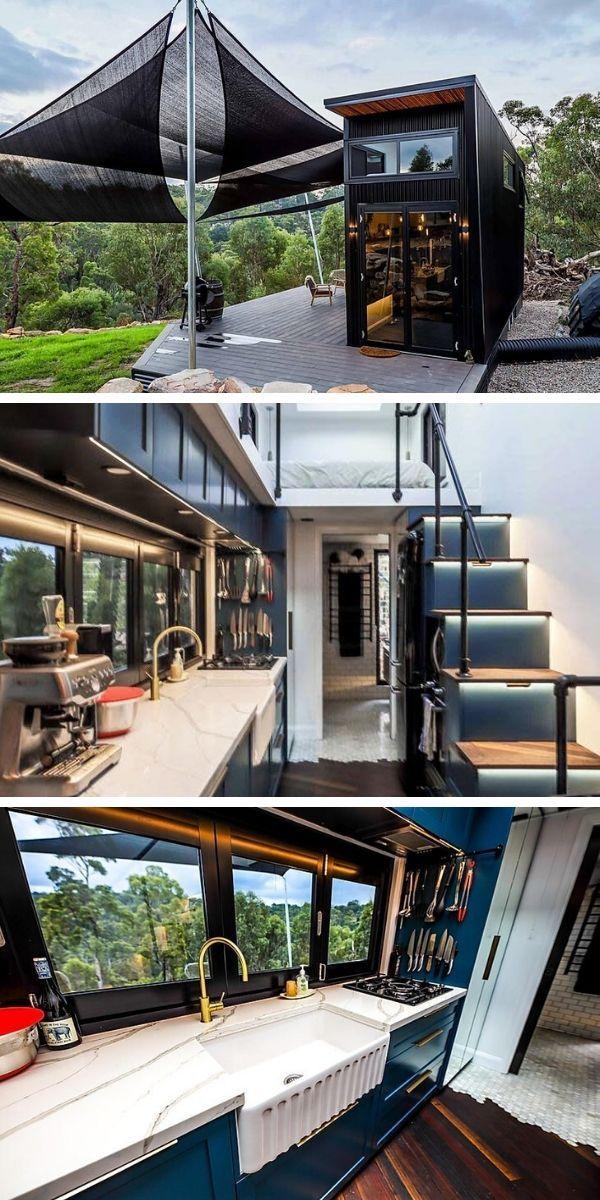 A Modernist Tiny Home Prepares To Go Off Grid Off Grid