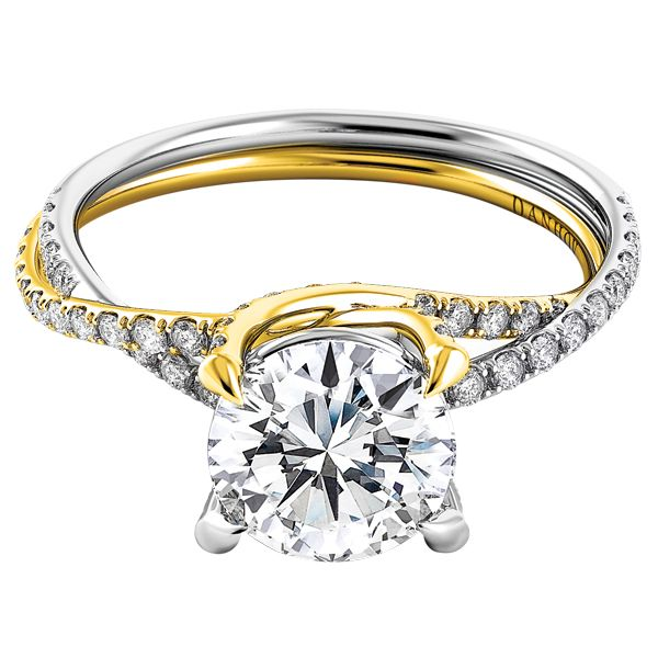 Trend Mixed Metal Engagement Rings