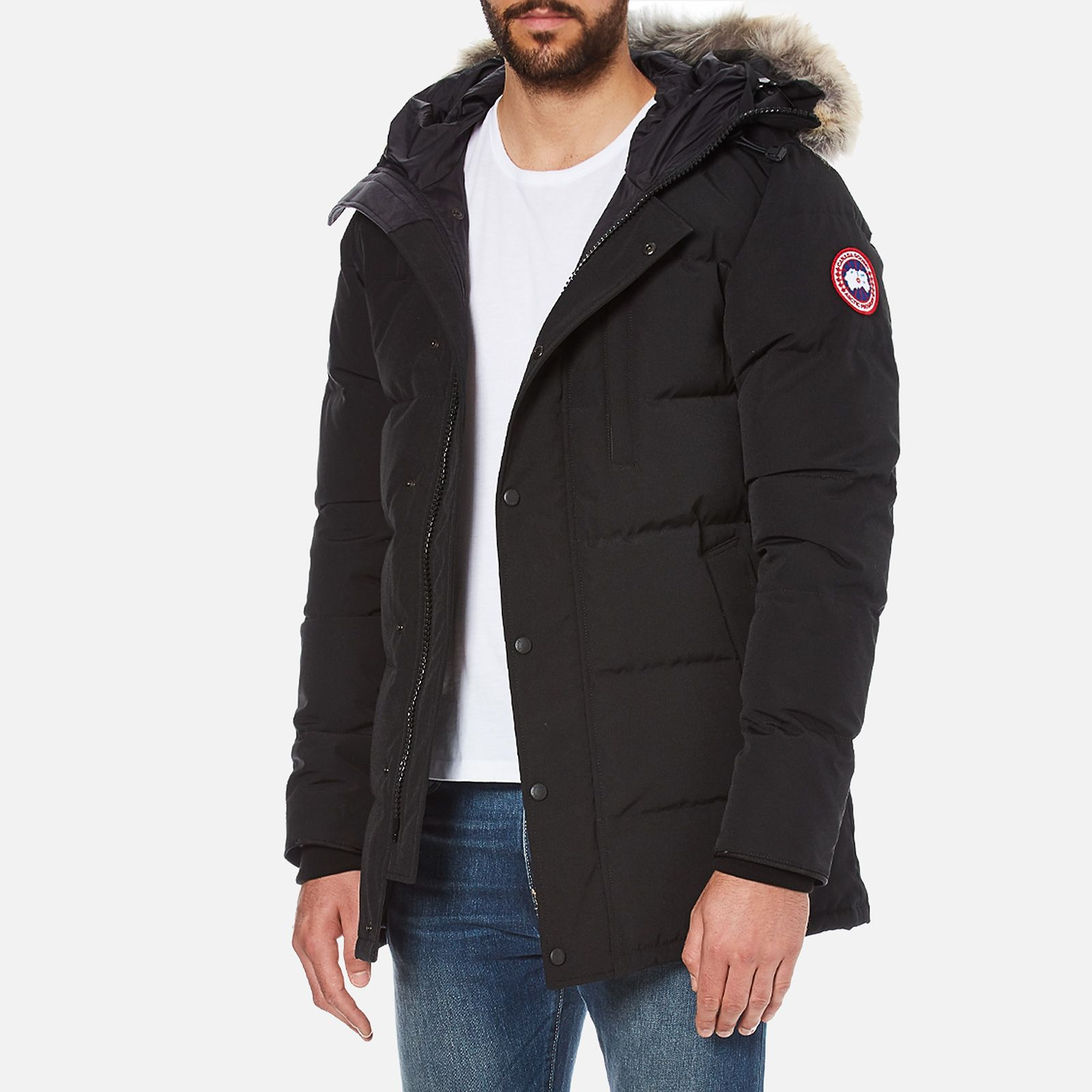 Canada Goose Men S Carson Parka Jacket Black Affiliate Ad Men Canada Goose Parka Jacket Jackets Canada Goose Mens