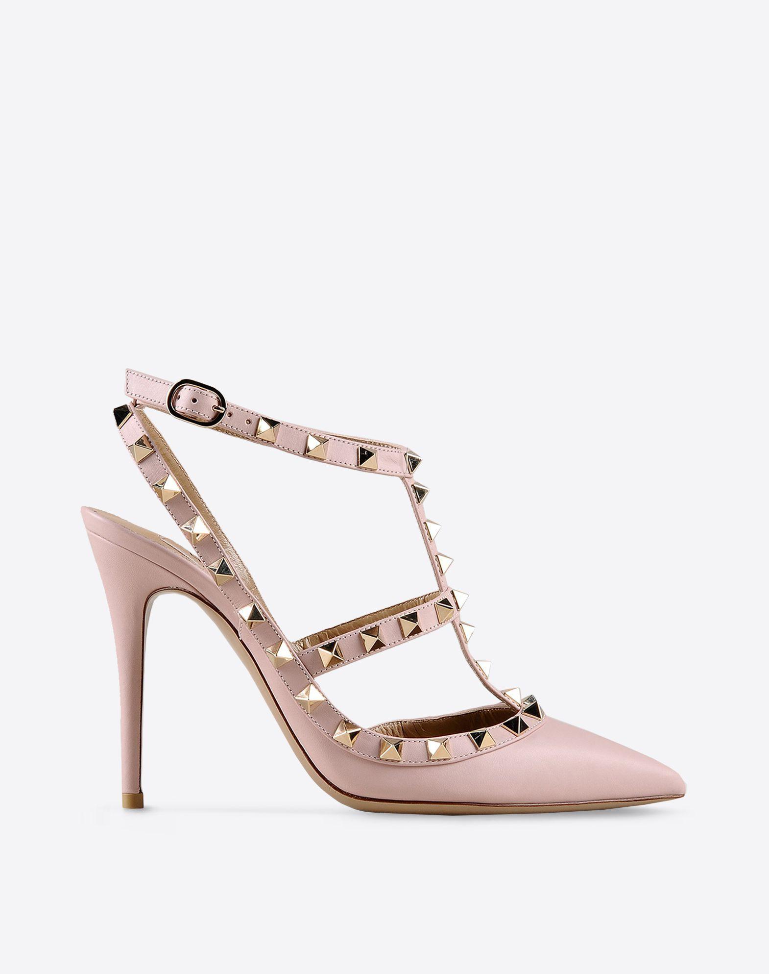Boutique en ligne Valentino - Chaussure Rockstud à Bride Femme Valentino
