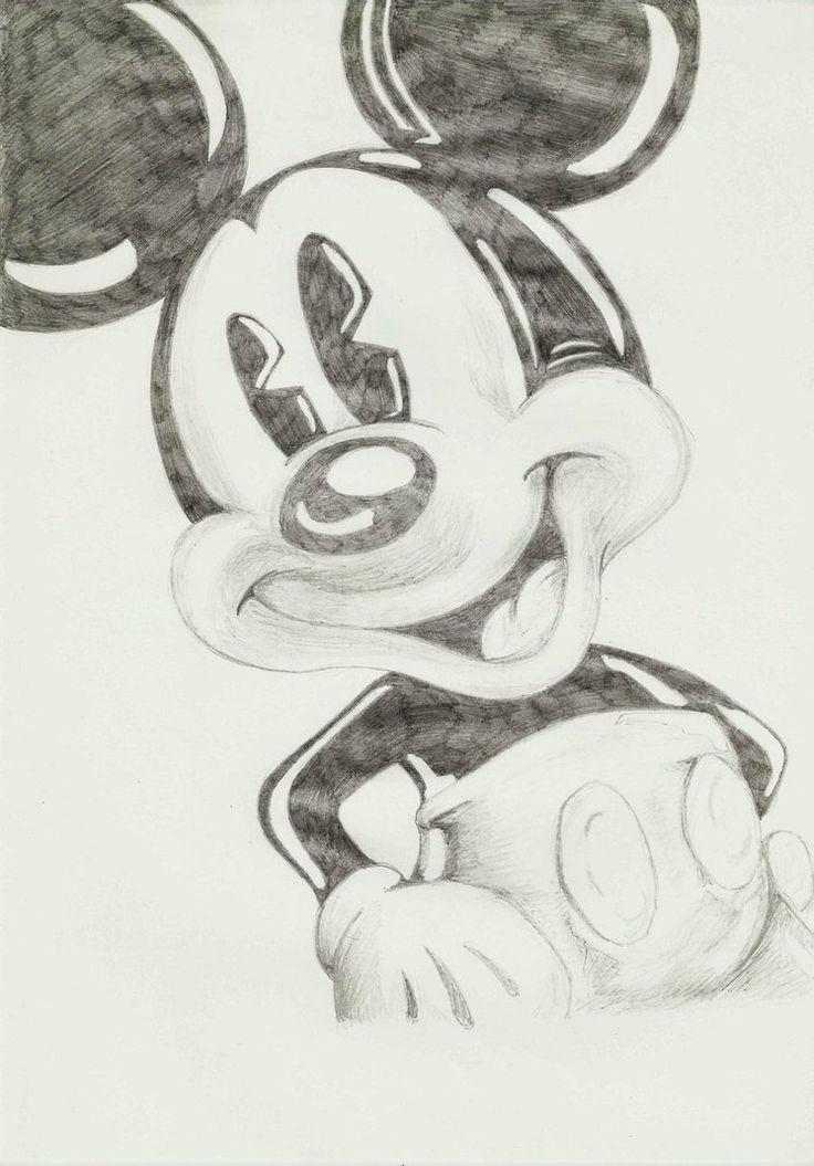 Creative Drawing Ideas For Beginners Google Search Mickey