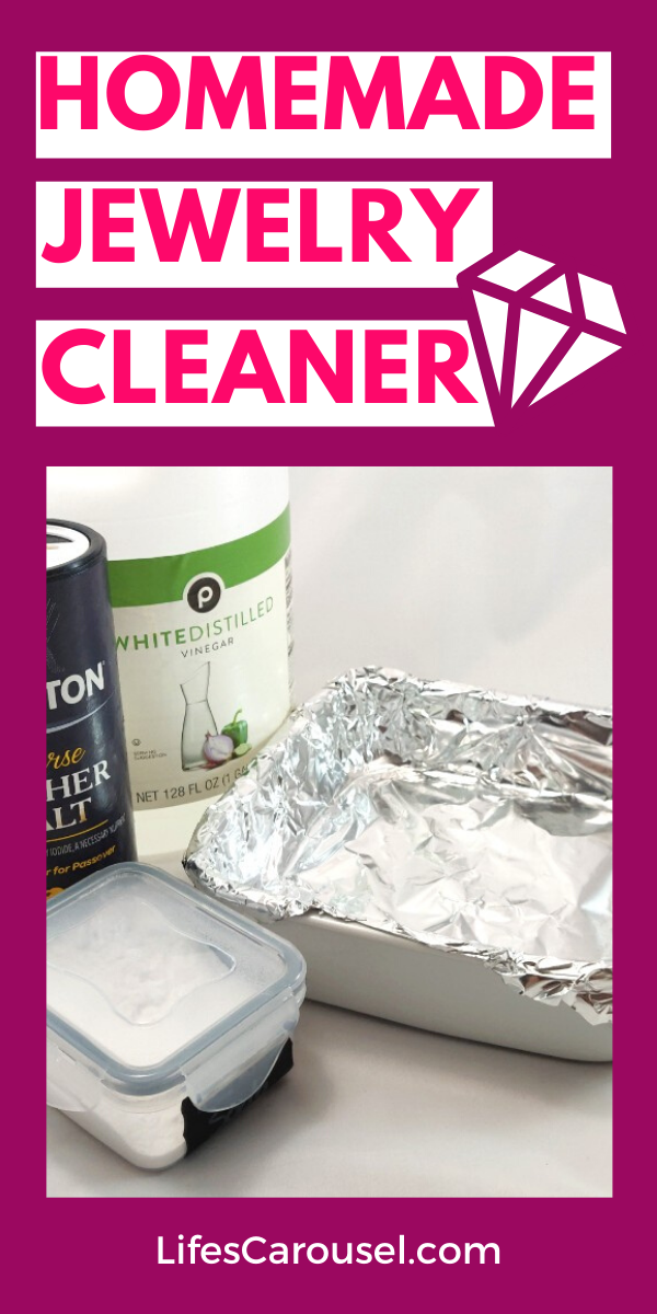 DIY Jewelry Cleaner - Sparkling Silver Without Scrubbing ...