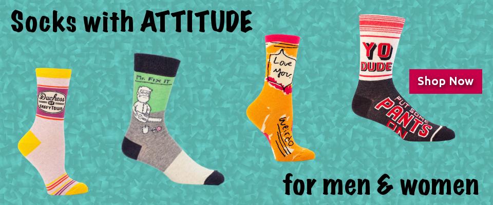 Blueq Socks With Attitude Socks Cool Socks Coding