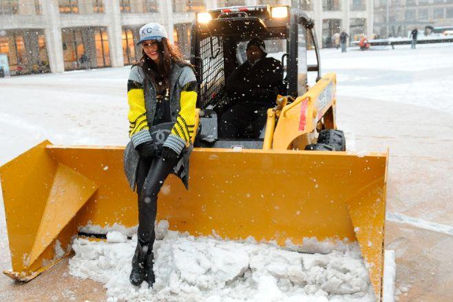 Una cap súper trendy para combatir el frío. #StreetHair