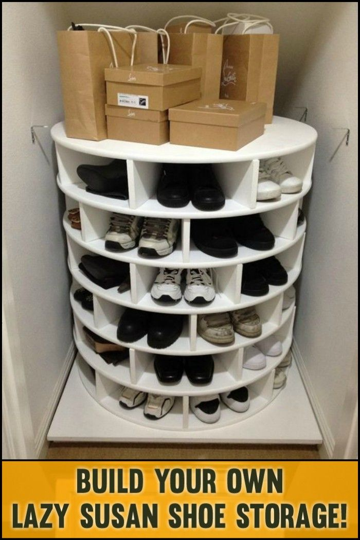 Lazy Susan Shoe Rack Simple Diy Lazy Susan Shoe Storage  Shoes Organizer Lazy And Organizations 2018