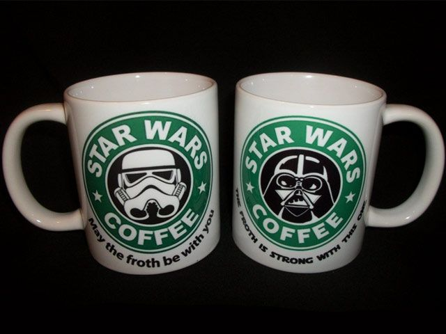 Star Wars Starbucks Coffee Parody Mug Lockergnome Star Wars