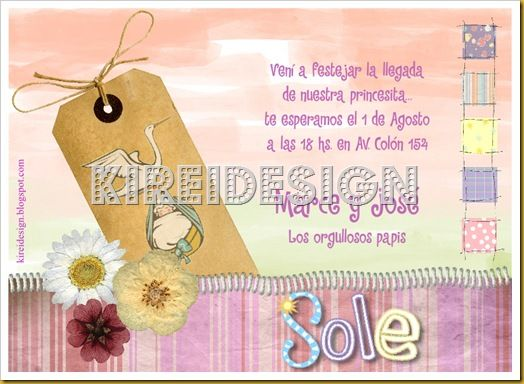 invitaciones y frases para baby shower proyectos que intentar