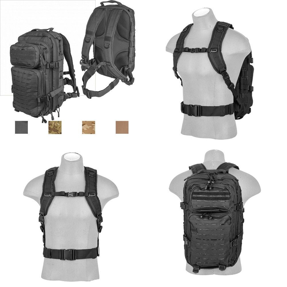 4720b043ee155 Lancer Tactical All-Purpose High Performance 3-Day Back Pack Heavy  Tension... | eBay